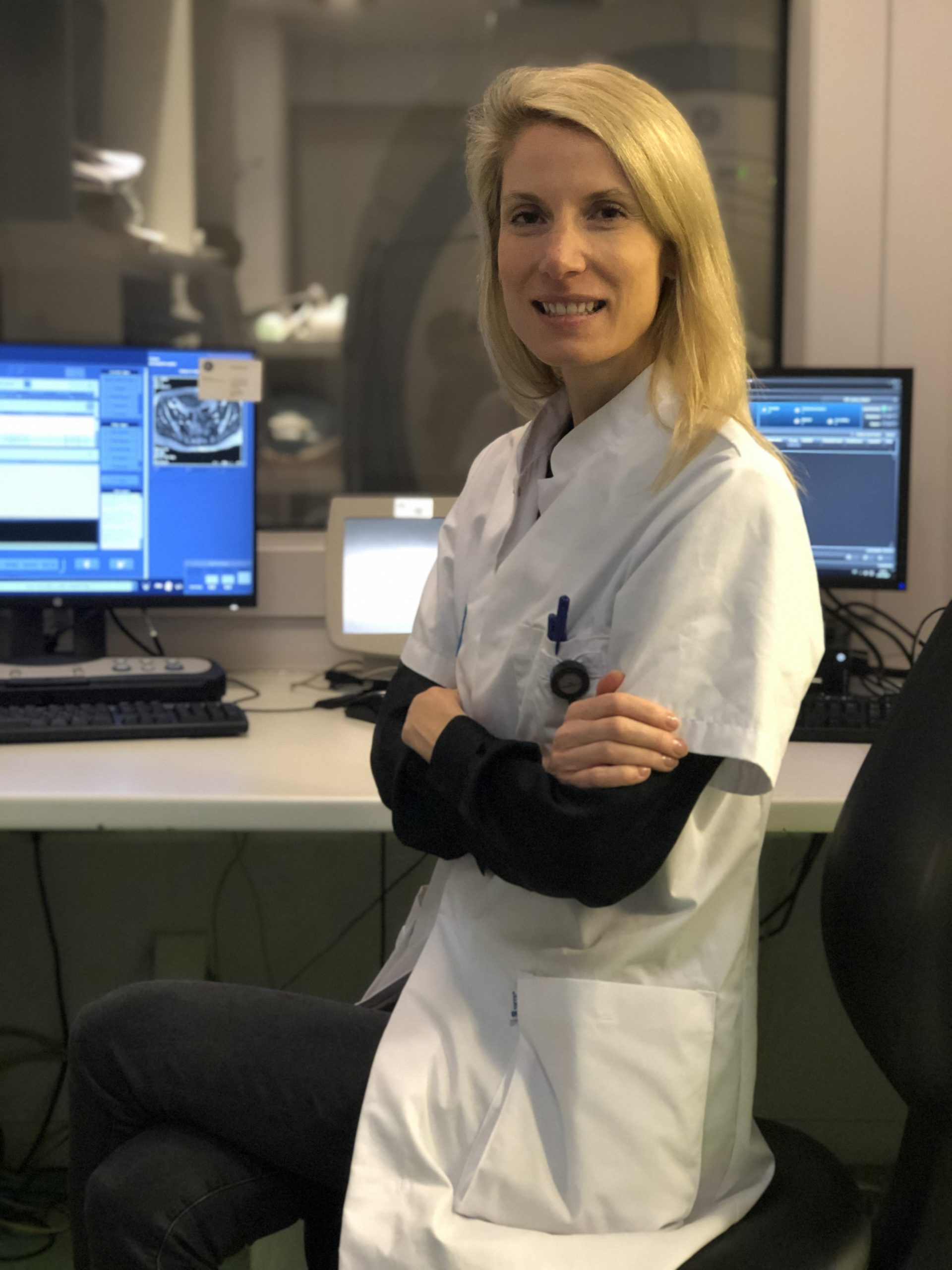 Interview with radiologist, MD, Valerie Cassetto