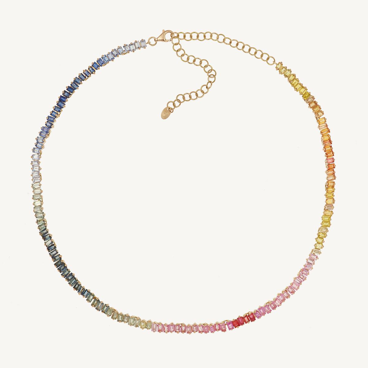 Necklace Majestic Rainbow