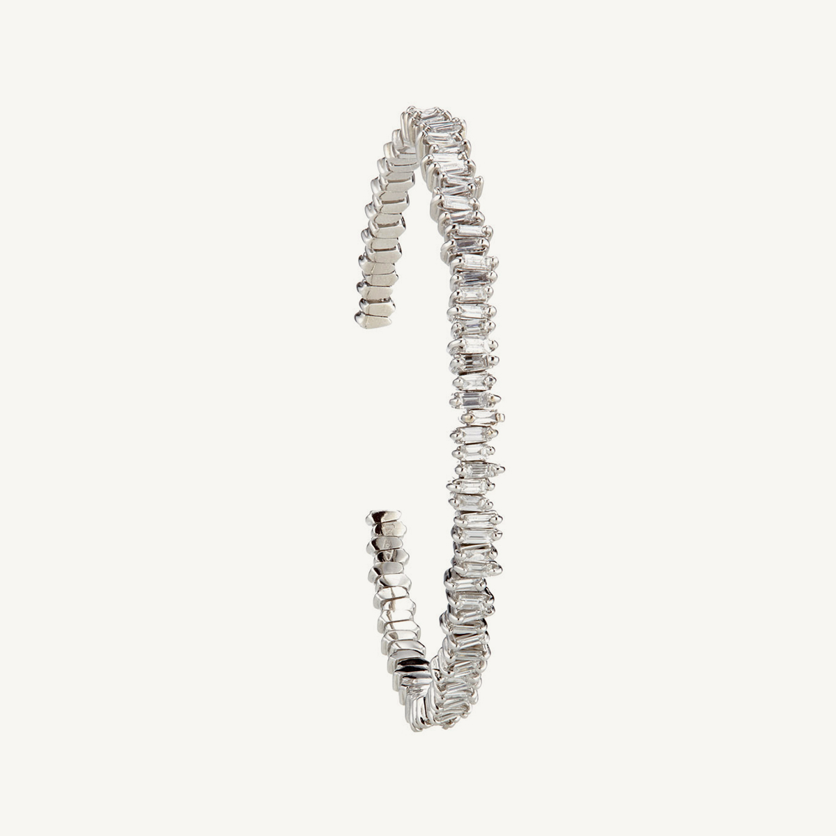 Bracelet Namib in white gold