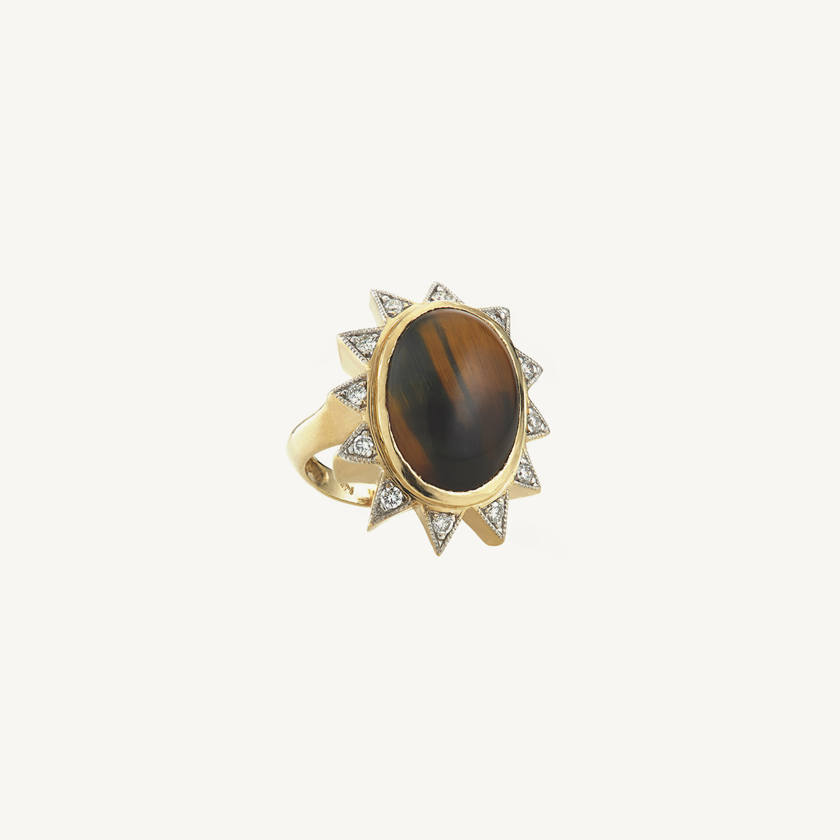 Ring Athina with Tiger's Eye