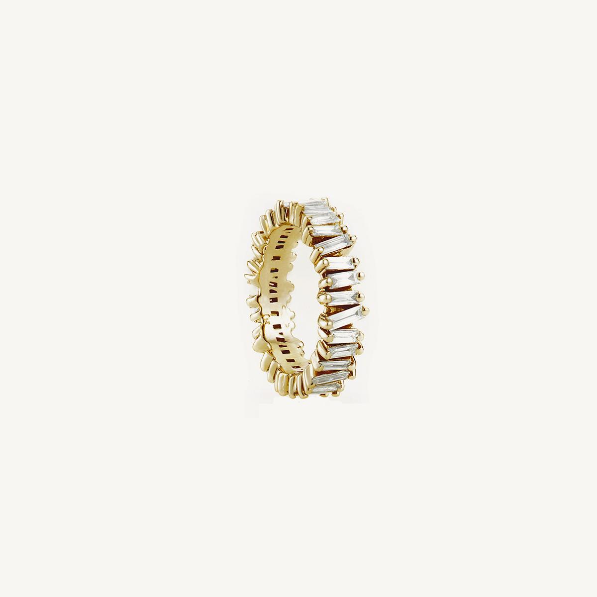 Ring Namib in yellow gold