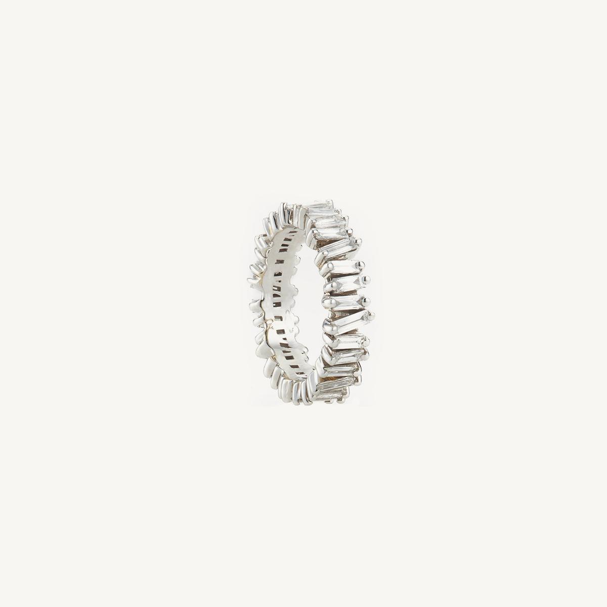 Ring Namib in white gold