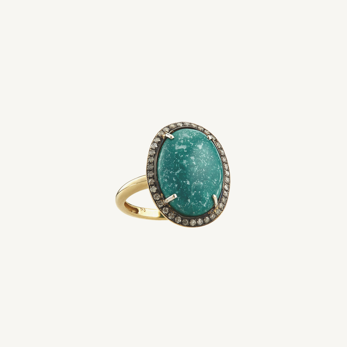 Ring Tarot with Turquoise