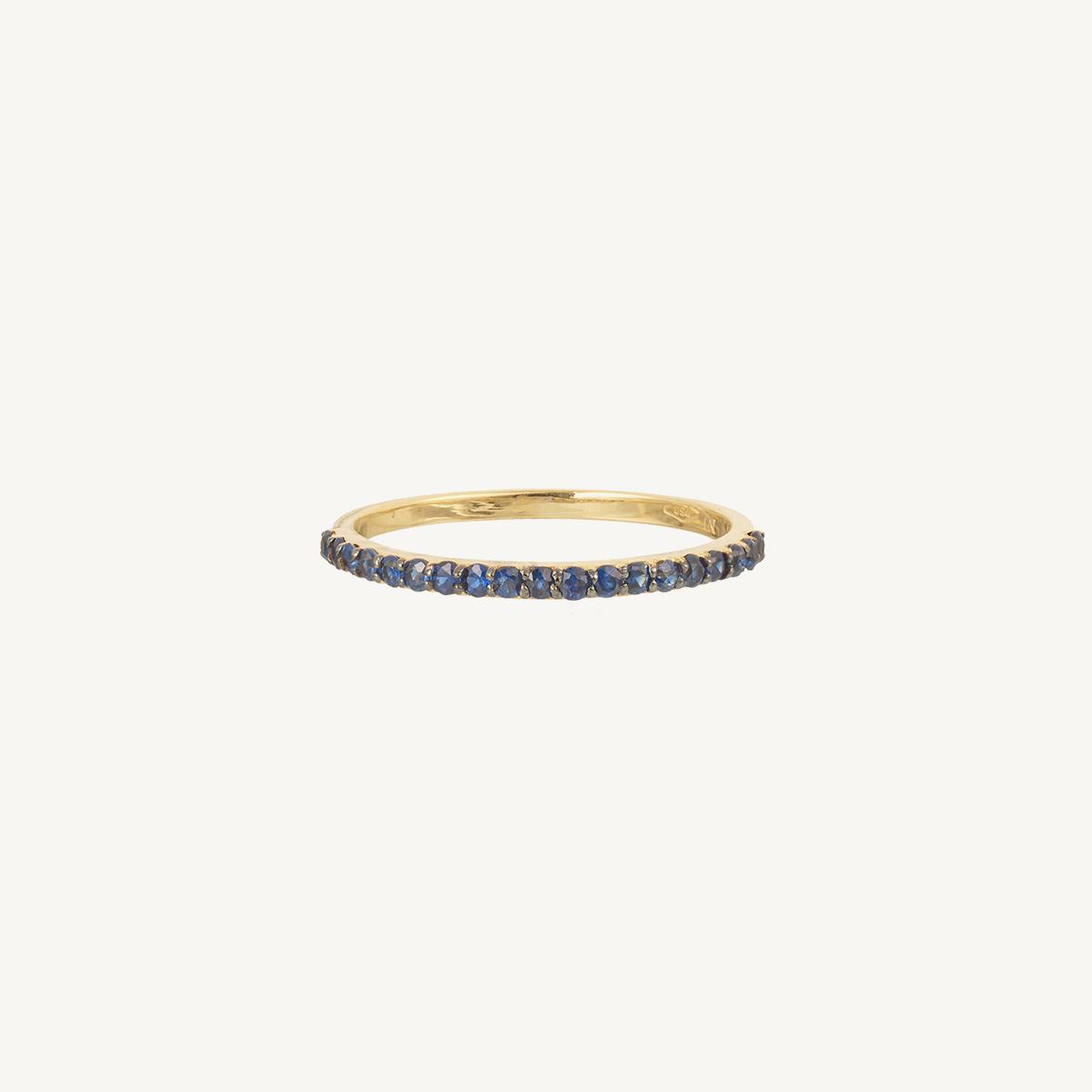 Ring Viola Blue
