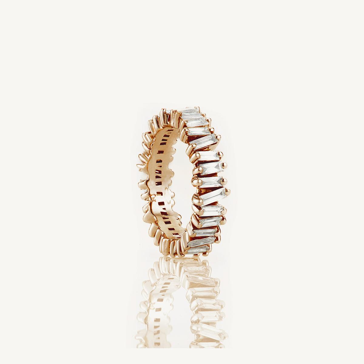 Ring Namib in rose gold