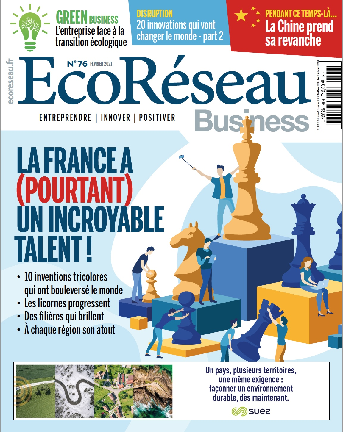 Éco Réseau Business magazine